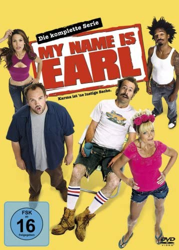 My Name Is Earl Die komplette Serie (16 DVDs)