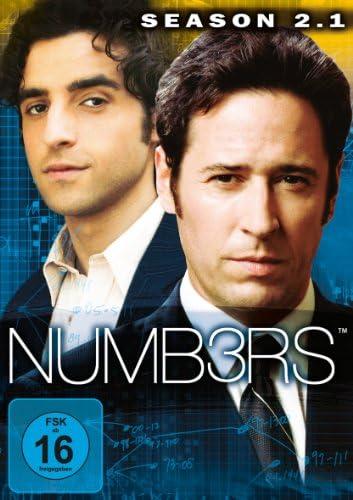 Numbers Season 2.1 (3 DVDs)