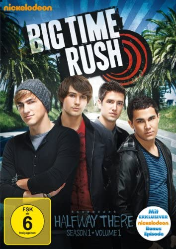 Big Time Rush Season 1, Vol. 1 (2 DVDs)
