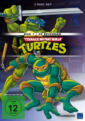 Teenage Mutant Hero Turtles - Box 1/Episoden 01-25 (3 DVDs)