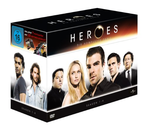 Heroes The Complete Collection/Season 1-4 (23 DVDs)