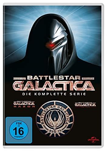 Battlestar Galactica Die komplette Serie (25 DVDs)