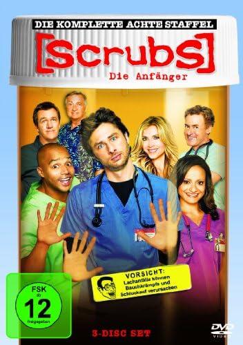 Scrubs: Die Anfänger Die komplette Staffel 8 (3 DVDs)