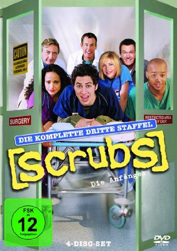 Scrubs: Die Anfänger Die komplette Staffel 3 (4 DVDs)