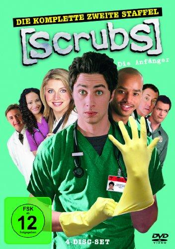 Scrubs: Die Anfänger Die komplette Staffel 2 (4 DVDs)