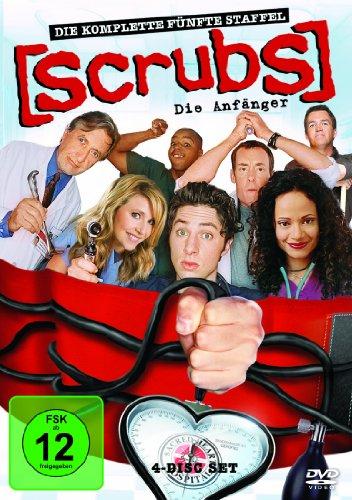 Scrubs: Die Anfänger Die komplette Staffel 5 (4 DVDs)