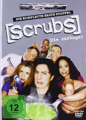 Scrubs: Die Anfänger Die komplette Staffel 1 (4 DVDs)