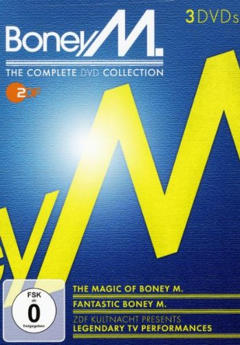 ZDF Kultnacht Boney M. - The Complete DVD Collection