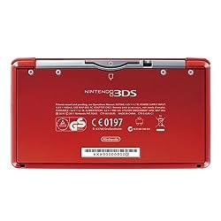 3DS Konsole metallic rot