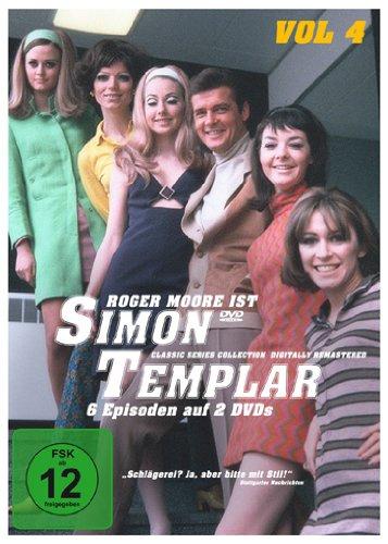 Simon Templar, Vol. 4: Folge 21-26 (2 DVDs)
