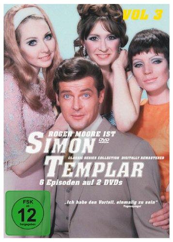 Simon Templar, Vol. 3: Folge 15-20 (2 DVDs)
