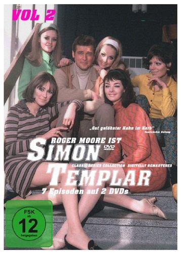 Simon Templar, Vol. 2: Folge 8-14 (2 DVDs)