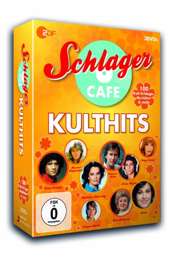 Schlagercafé Kulthits (3 DVDs)
