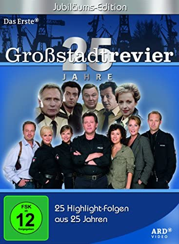 Großstadtrevier 25 Jahre (Jubiläumsedition) (7 DVDs)