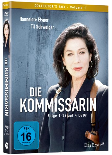 Die Kommissarin Vol. 1 (Folge 1-13) (4 DVDs)
