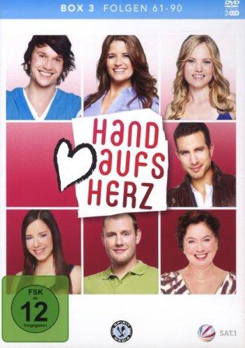 Hand aufs Herz Box 3: Folge 61-90 (3 DVDs)