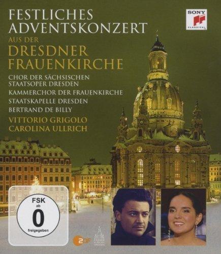 Festliches Adventskonzert aus der Dresdner Frauenkirche 2010 [Blu-ray]