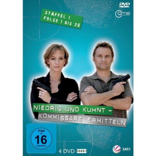 Niedrig & Kuhnt - Kommissare ermitteln: Staffel 1, Folge  1 bis 20 (4 DVDs)