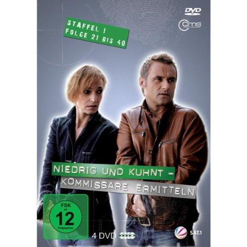 Niedrig & Kuhnt - Kommissare ermitteln: Staffel 1, Folge 21 bis 40 (4 DVDs)