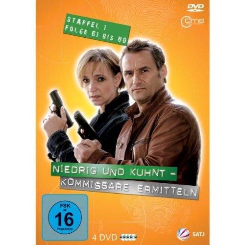 Niedrig & Kuhnt - Kommissare ermitteln: Staffel 1, Folge 61 bis 80 (4 DVDs)