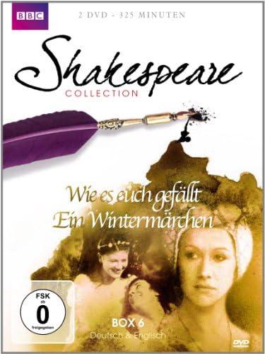 Shakespeare Collection, Vol. 6 - Wie es euch gefällt/Ein Wintermärchen (2 DVDs)