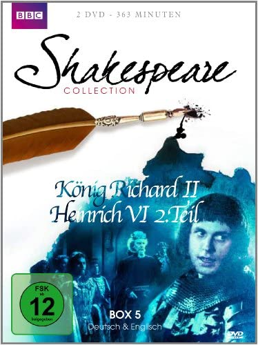 Shakespeare Collection, Vol. 5: König Richard II/Heinrich VI Teil 2 (2 DVDs)
