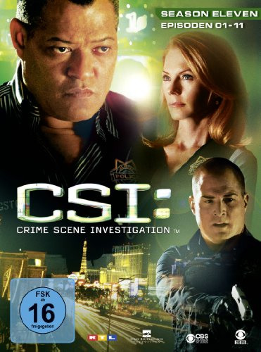 CSI Season 11 / Box-Set 1 (3 DVDs)
