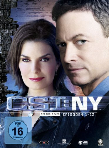 CSI: NY Season 7.1 (3 DVDs)