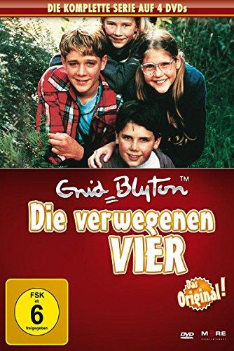 Enid Blyton - Die verwegenen Vier 4 DVDs