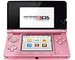 3DS Konsole coral pink