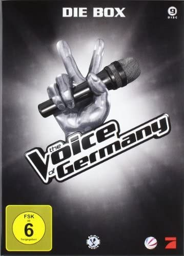 The Voice of Germany: Staffel 1 - Die Box (9 DVDs)