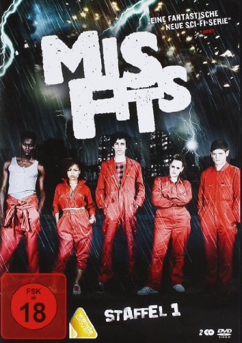 Misfits Staffel 1 (2 DVDs)