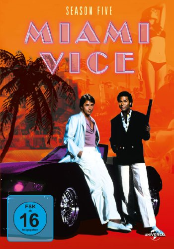 Miami Vice Season 5 (6 DVDs)