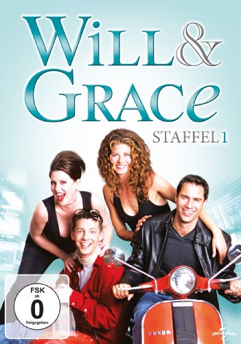 Will & Grace Staffel 1 (4 DVDs)