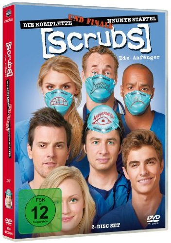 Scrubs: Die Anfänger Die komplette Staffel 9 (2 DVDs)