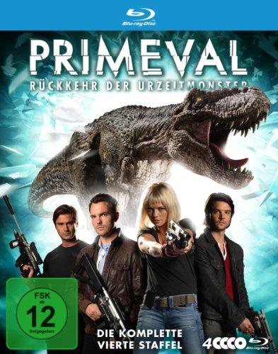 Primeval - Rückkehr der Urzeitmonster: Staffel 4 [Blu-ray]