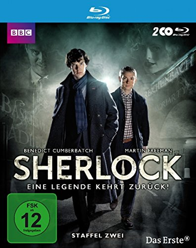 Sherlock Staffel  2 [Blu-ray]