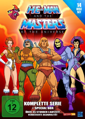 He-Man and the Masters of the Universe Gesamtbox (14 DVDs)
