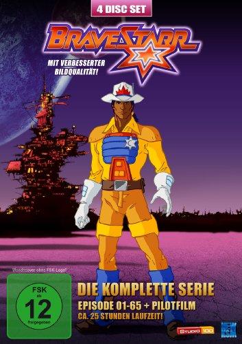 Bravestarr Die komplette Serie + Pilotfilm (4 DVDs)