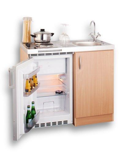 Mebasa mebakb100oos minikuche komplettkuche 100 cm in for Komplettküche