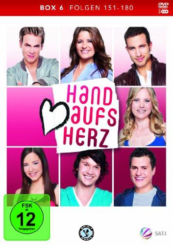 Hand aufs Herz Box 6: Folge 151-180 (3 DVDs)