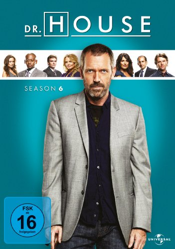 Dr. House Season 6 (6 DVDs)