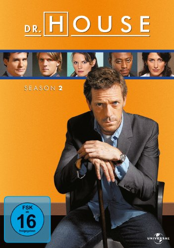Dr. House Season 2 (6 DVDs)