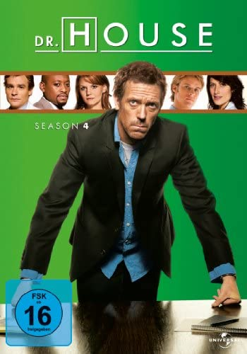 Dr. House Season 4 (4 DVDs)