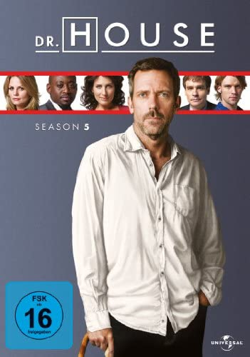 Dr. House Season 5 (6 DVDs)