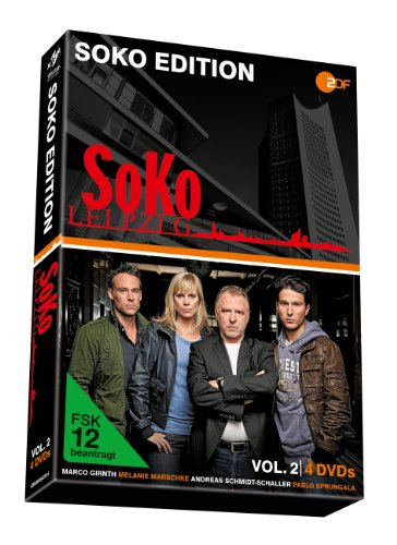 SOKO Leipzig, Vol. 2 - Soko Edition (4 DVDs)