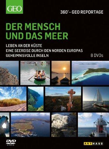 360° - Die GEO-Reportage: Der Mensch und das Meer (8 DVDs)