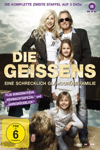 Die Geissens - Eine schrecklich glamouröse Familie: Staffel  2 (3 DVDs)