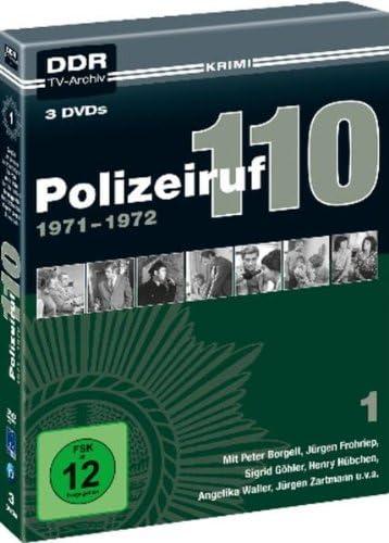 Polizeiruf 110 Box  1: 1971-1972 (DDR TV-Archiv) (3 DVDs)
