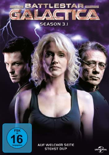 Battlestar Galactica Season 3.1 (3 DVDs)